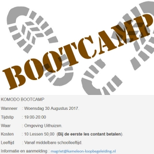 Start Komodo Bootcamp