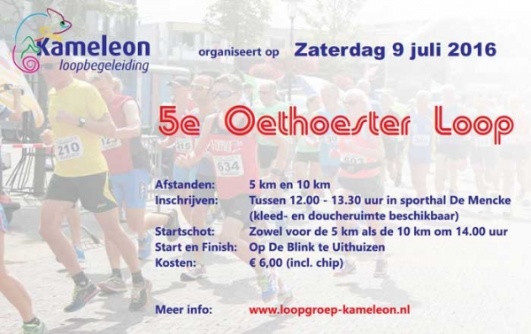 Flyer Oethoesterloop 2016